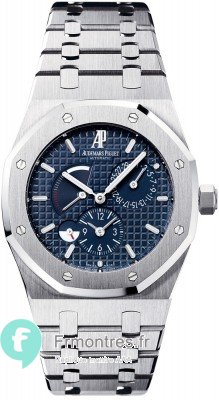 Replique Audemars Piguet Royal Oak Dual Time 26120ST.OO.1220ST.02