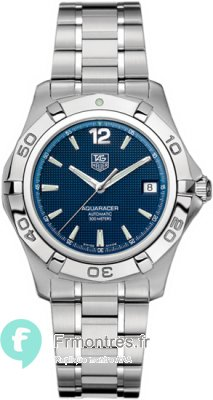 Replique Tag Heuer Aquaracer Calibre 5 automatique waf2112.ba0806