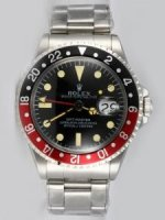 Réplique Rolex GMT-MASTER Black Dail 24 Hour Black And Re
