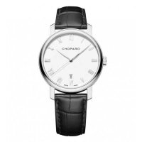 Chopard Classic Blanc Cadran 18K Blanc Or 40mm Dames 161278-1001