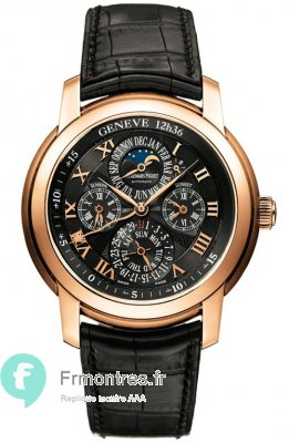 Replique Audemars Piguet Jules Audemars Cadran Noir 26003OR.OO.D002CR.01002