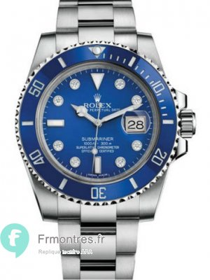Replique Rolex Submariner Type 40MM Montre 116619LB-97209 8DI