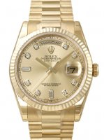 Réplique ROLEX DAY DATE 118238YGCD Montre