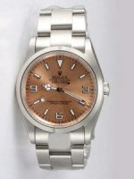 Réplique Rolex Anti Gold Dial With Bar Hour Markers Rl859