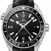 Omega Seamaster Planet Ocean 600 M Omega Co-axial GMT 43.5 mm 232.98.44.22.01.001